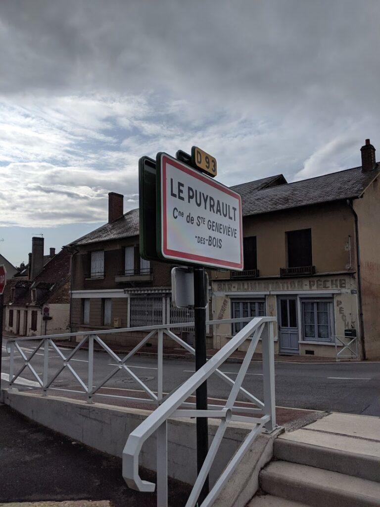 panneau de ville Le Puyrault